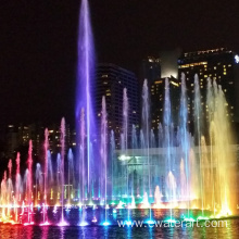 Ewaterart outdoor fountain with lights